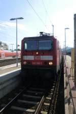 BR 143/172767/143-168-3-stand-am-25-august 143 168-3 stand am 25. August 2011 im Bahnhof von Koblenz.