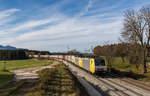 BR 189/531414/189-926-war-am-20-november 189 926 war am 20. November 2016 mit dem 'Ekol'-Zug bei Grabenstätt in Richtung Freilassing unterwegs.