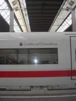 ICE-Namen/52895/ice-cottbus-am-31-mai-2009 ICE 'Cottbus' am 31. Mai 2009 im Münchner Hauptbahnhof aufgenommen.