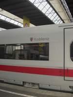 ICE-Namen/52896/ice-koblenz-im-hauptbahnhof-von-muenchen ICE 'Koblenz' im Hauptbahnhof von München am 31. Mai 2009.