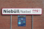 Niebüll/Naibel  am 31.
