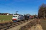 lokomotion-9/531445/186-440-und-189-151-waren 186 440 und 189 151 waren am 10. Dezember 2016 bei Vogl in Richtung Brenner unterwegs.