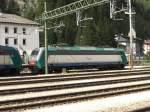 br-e-405/181616/405-021-wartet-auf-den-naechsten 405 021 wartet auf den nächsten Einsatz. Aufgenommen am 19. September 2007 im Bahnhof 'Brenner'.