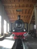 br-38/36360/38-1301-der-oegeg-im-lokschuppen 38 1301 der 'ÖGEG' im Lokschuppen des Eisenbahnmuseums Ampflwang.