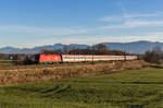br-1116/531437/1116-185-0-war-am-10-dezember 1116 185-0 war am 10. Dezember 2016 bei Rann in Richtung München unterwegs.