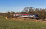 br-xx16-werbeloks/531440/11216-019-der-achensee-taurus-am-10 11216 019 der 'Achensee-Taurus' am 10. Dezember von München kommend bei Hilperting.